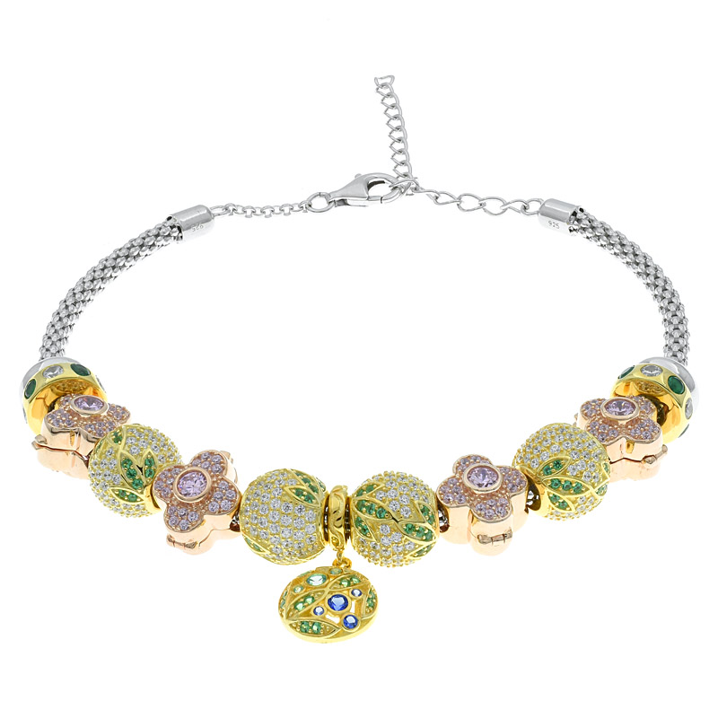 Pandora Clover Bracelet For Women
